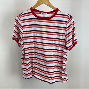 Multicolor Striped T-shirt